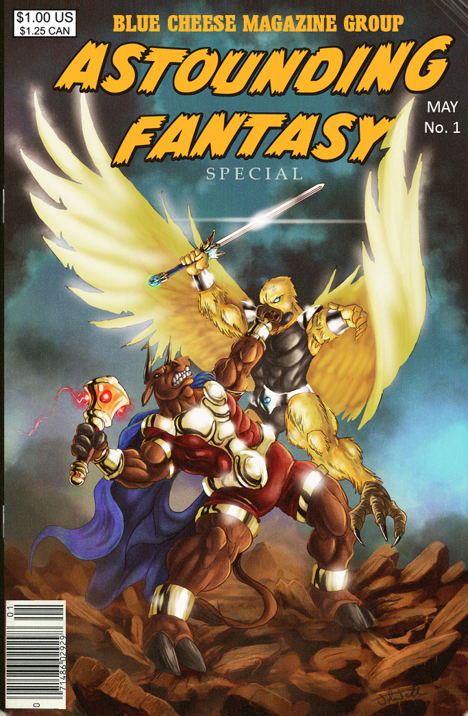 Astounding Fantasy Special Mag by JTF3