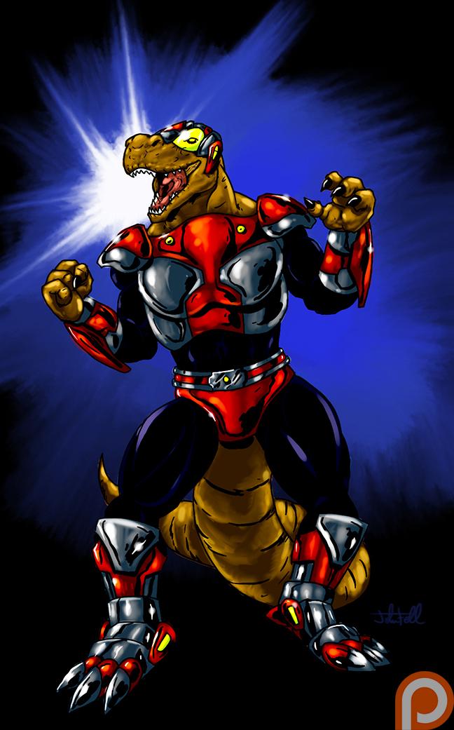 Patreon Reward - Cybersaurus Rex by JTF3