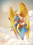 Patreon Reward - Bird Goddess