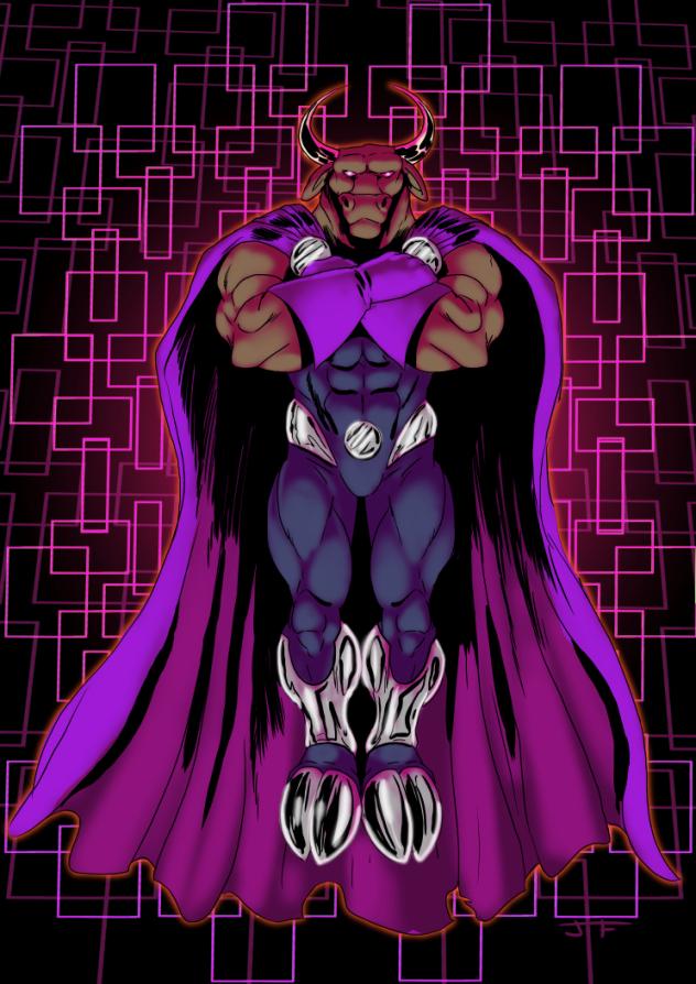 Patreon Reward - Zebu of Evil by JTF3