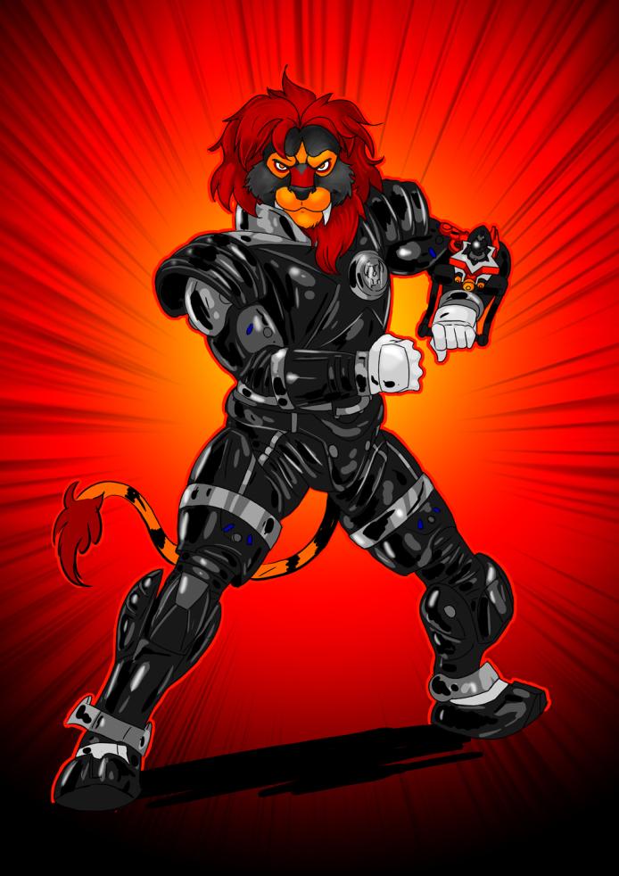Patreon Reward - Inferno Ranger by JTF3