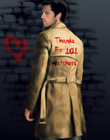 Thanks For 101 Watchers by CARstiel