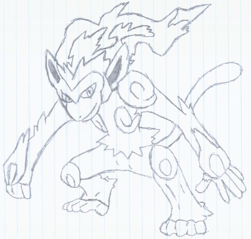 404 Not Found Infernape Coloring Pages