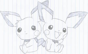 Pichu Brothers by revolutionX1600