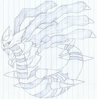 Giratina in Origin Form 2 by revolutionX1600