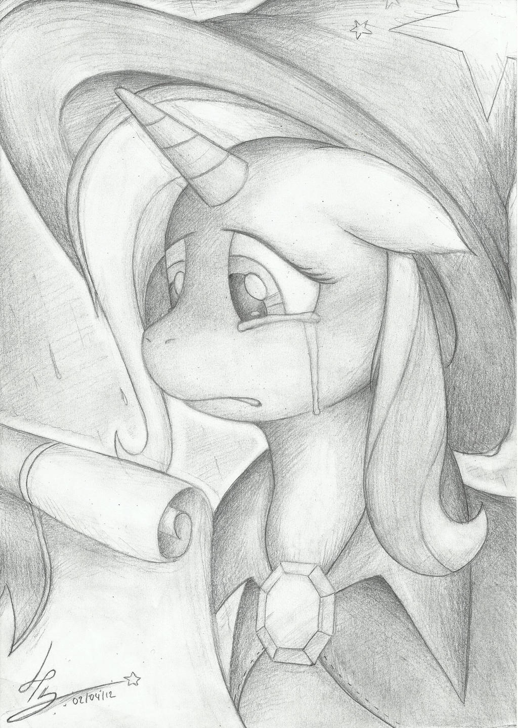 The Great and Powerful Trixie never cries... by HardLugia