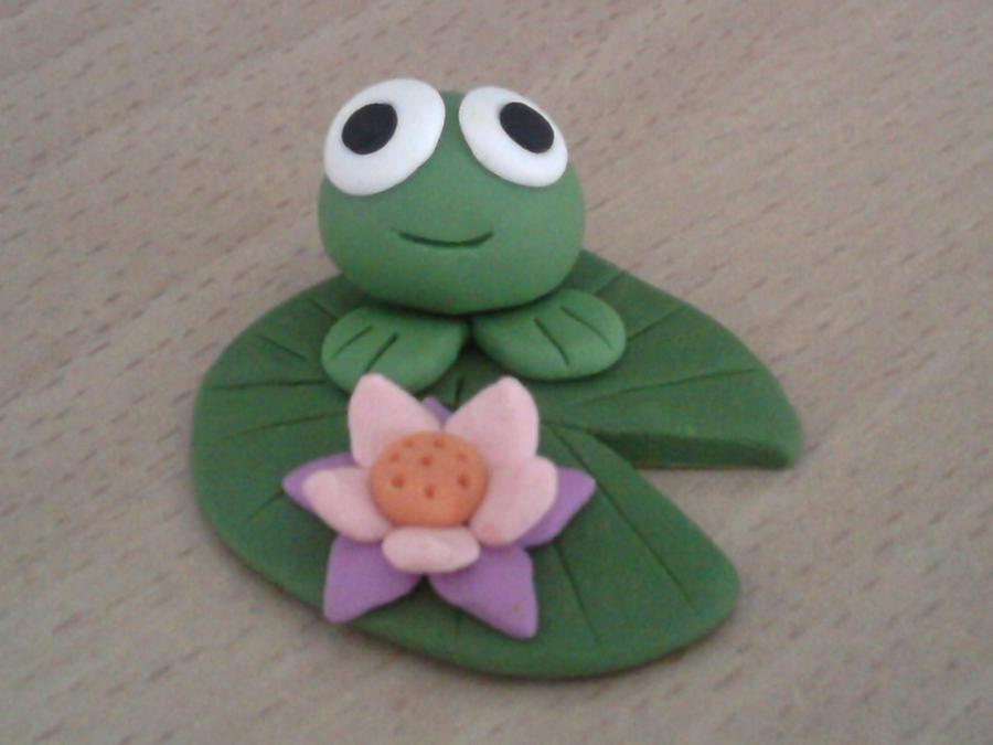 Frog fimo by bimbalove81