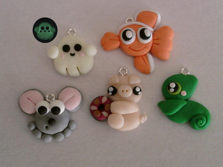 Pendants fimo by bimbalove81
