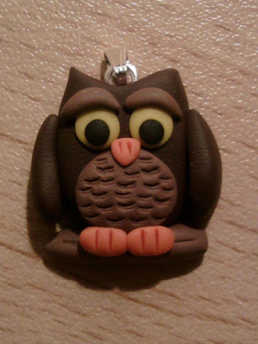 Owl fimo by bimbalove81