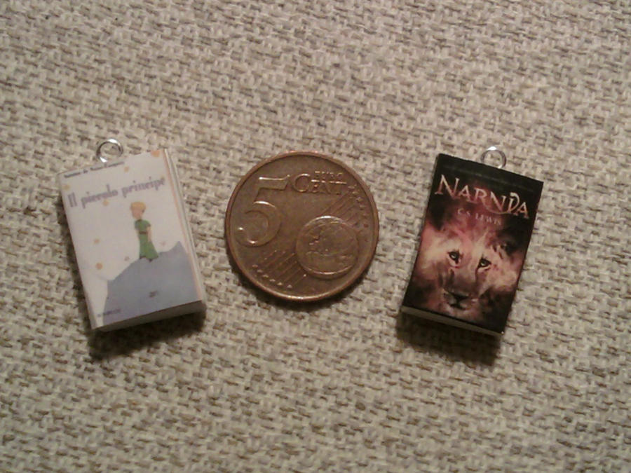 Mini books fimo by bimbalove81