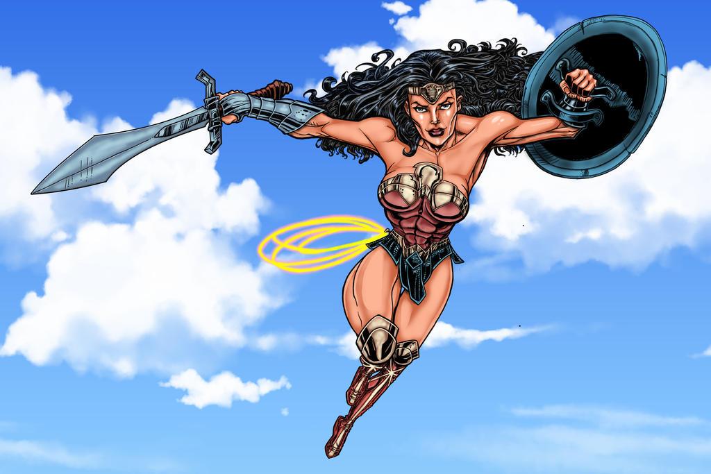 Wonderwoman by Opernix