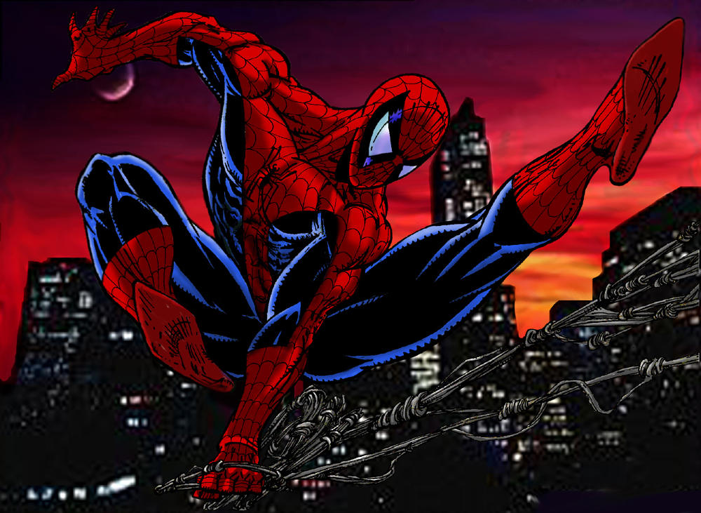 spiderman by Opernix