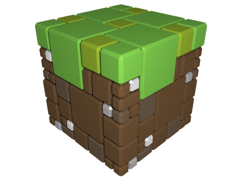 Grass Block v2 by LeetZero on DeviantArt
