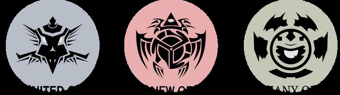Order Faction crests