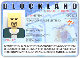 Fantasy Blockland ID card