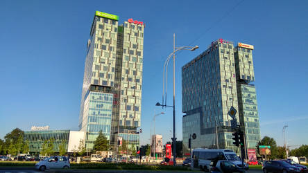 Glass Towers by LeetZero