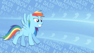 Rainbow dash wallpaper I made :) by poniesfromheaven