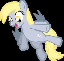Derpy Hooves credit free vector by poniesfromheaven
