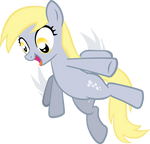 Derpy Hooves credit free vector
