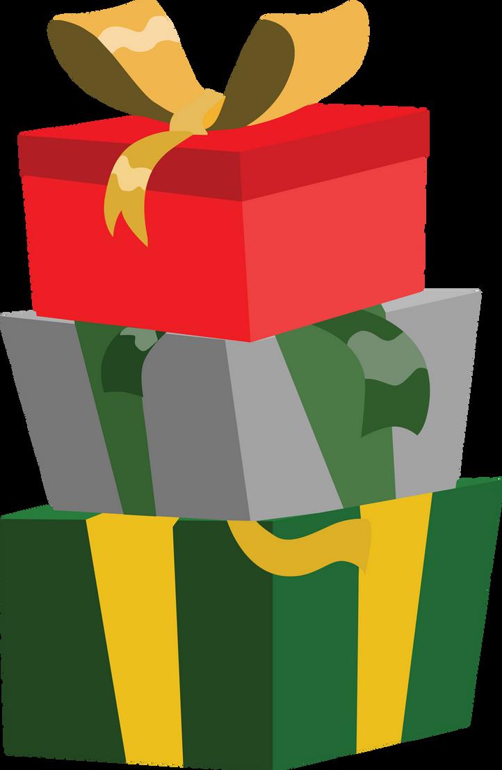 Christmas Gifts Vector Png Pony Christmas presents credit