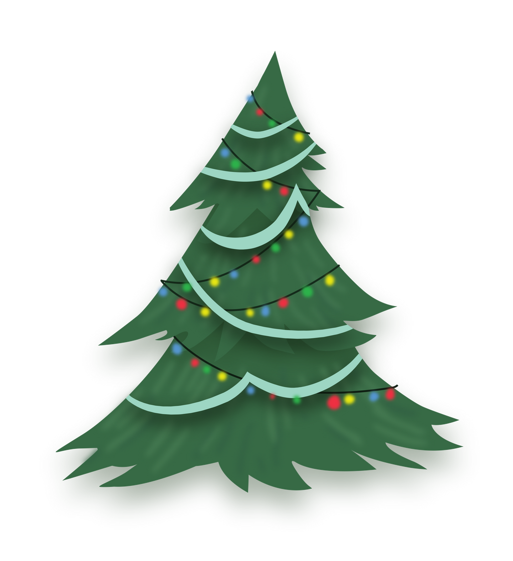 Pony Christmas Tree Credit Free Vector By Poniesfromheaven