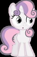 Sweetie Belle credit free vector by poniesfromheaven