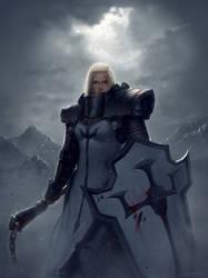 Female Crusader by Lionsketch