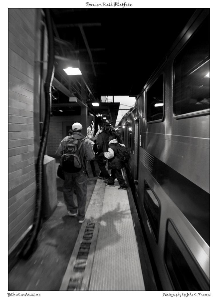 Trenton Rail Platform by yellowcaseartist
