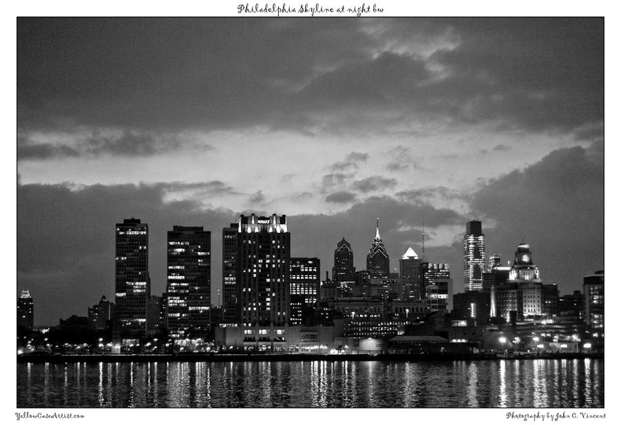 Philadelphia Skyline nbw2.1 by yellowcaseartist