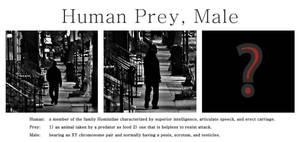 Human Prey, Male