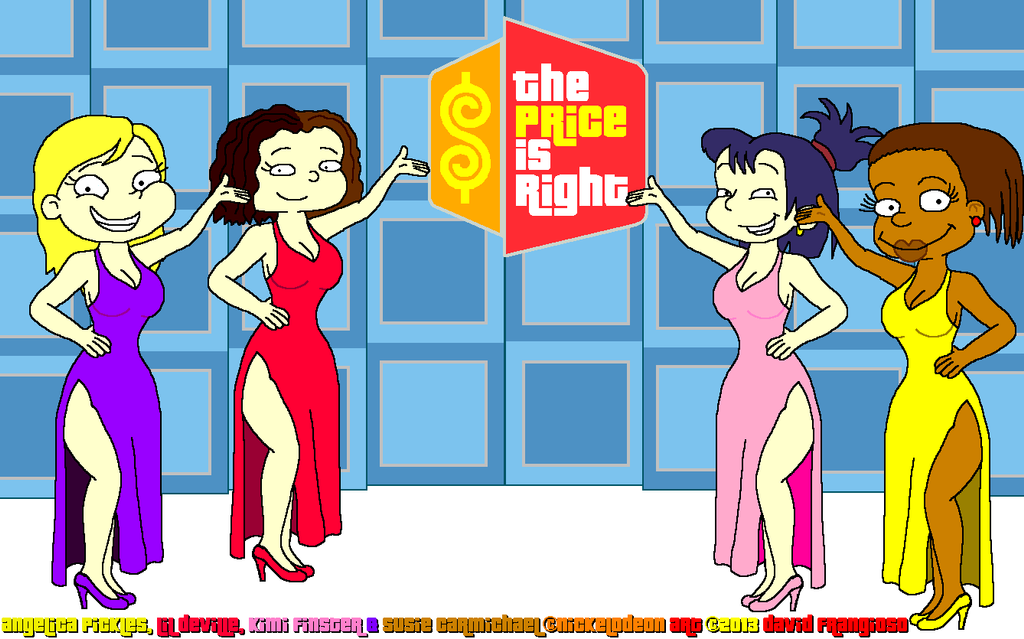 All Grown Up Girls on The Price is Right by tpirman1982 on ...