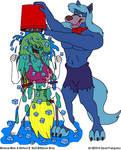 Minerva Mink in the ALS Ice Bucket Challenge