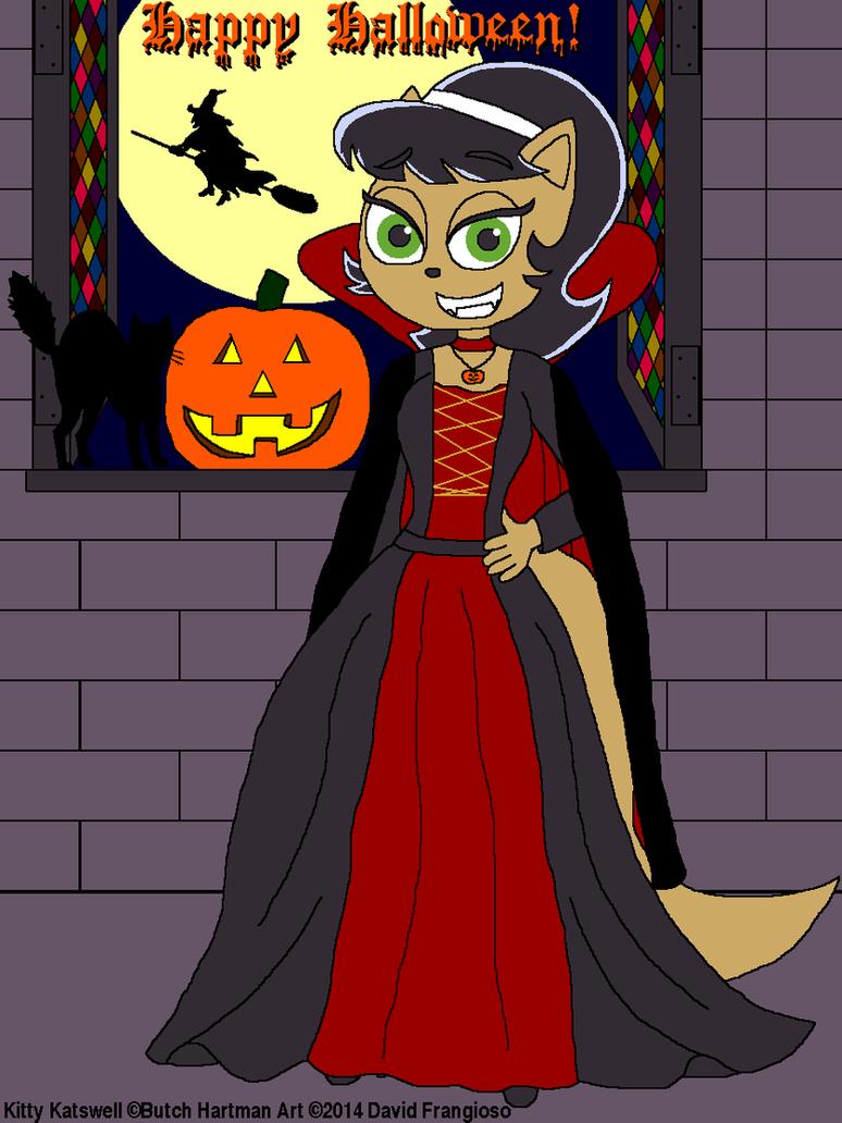 Kitty Katswell Halloween 2014 by tpirman1982
