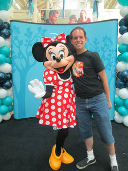 Me and Minnie Mouse at the Burlington Mall