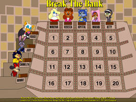 Minerva and Friends on Break The Bank by tpirman1982