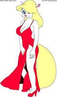 Minerva's Fuchsia Evening Gown by tpirman1982