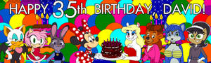 Minky 35th Birthday