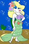 Minerva's Mermaid Dress