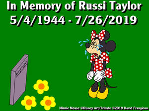 In Memory of Russi Taylor (1944-2019)