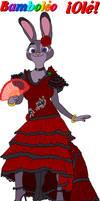 Flamenco Dancer Judy Hopps