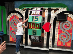 Me Spinning The Wheel at The Price is Right Live!