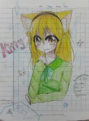 Kitty ( oc ) by WahaCreator