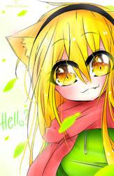 Hello, are u my friend ? | Kitty [ Oc ] by WahaCreator