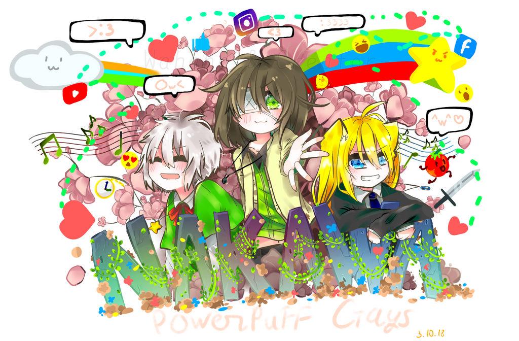 NaKaWa smile~PowerPuff Gays by WahaCreator