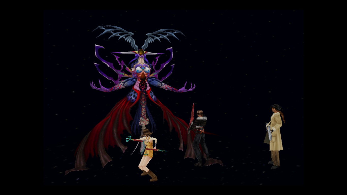 final fantasy 8 viii ultimecia wallpaper by zexionnrvi on