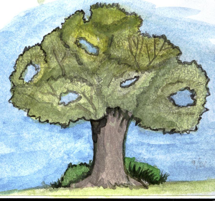 Tree Portrait 1 by GentlestGiant