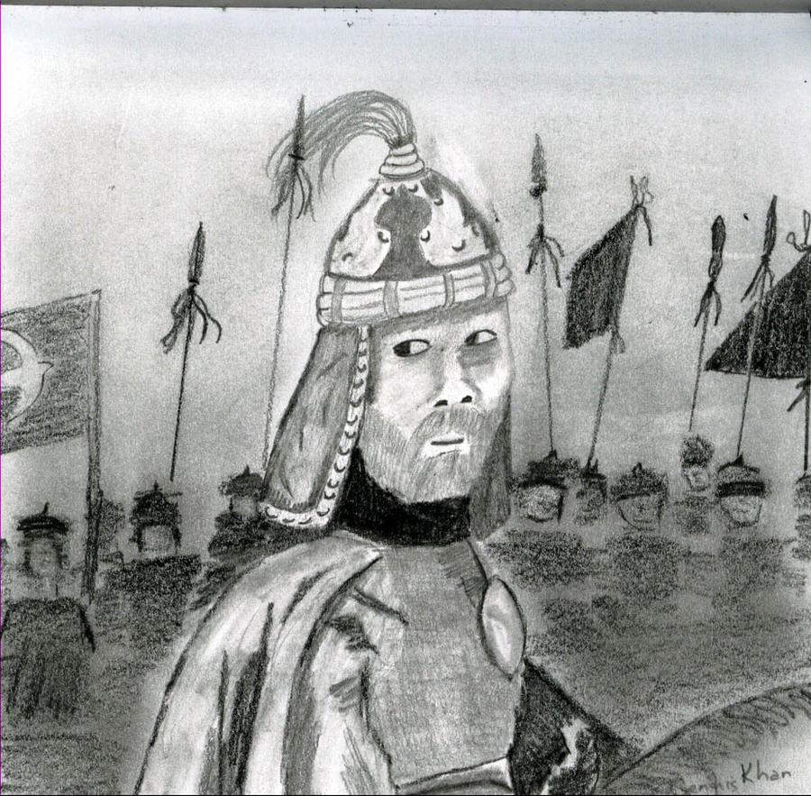 Genghis Khan by GentlestGiant