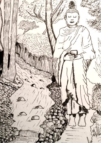 Buddha Walk by GentlestGiant