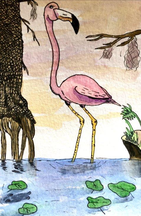 Flamingo by GentlestGiant