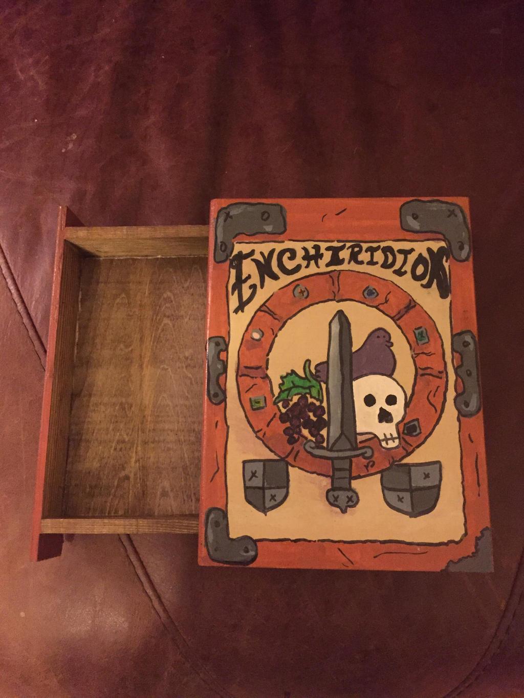 Enchiridion hidden box ooak by GentlestGiant